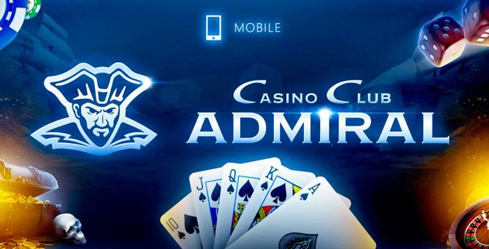 Мобильная версия казино Адмирал 777