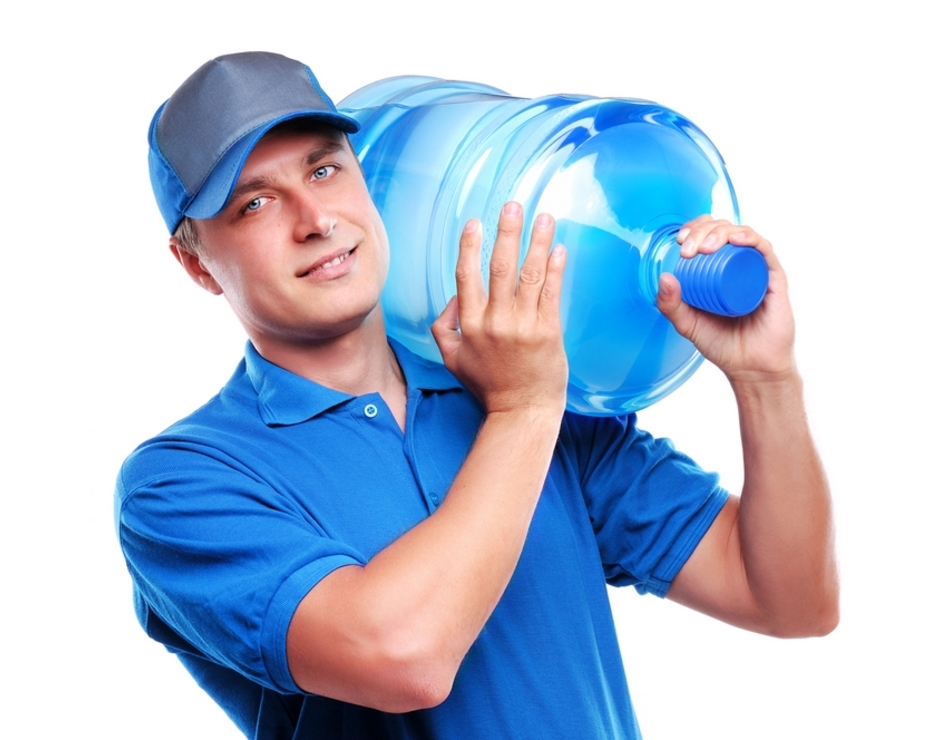 Доставка воды в оговоренное с менеджерами время от интернет магазина voda.kh.ua